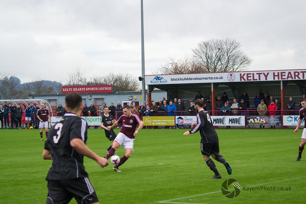Husband doubled Kelty's lead 15 minutes from time