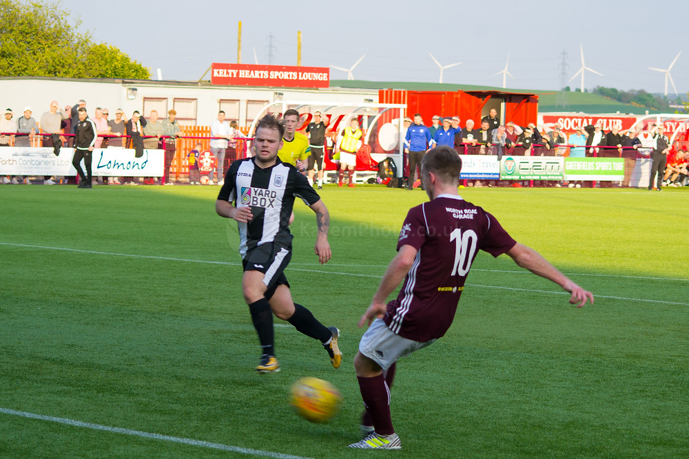 Cargill restored Kelty's two goal cushion