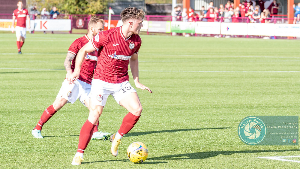 Cammy Russell supplied some good deliveries into the box