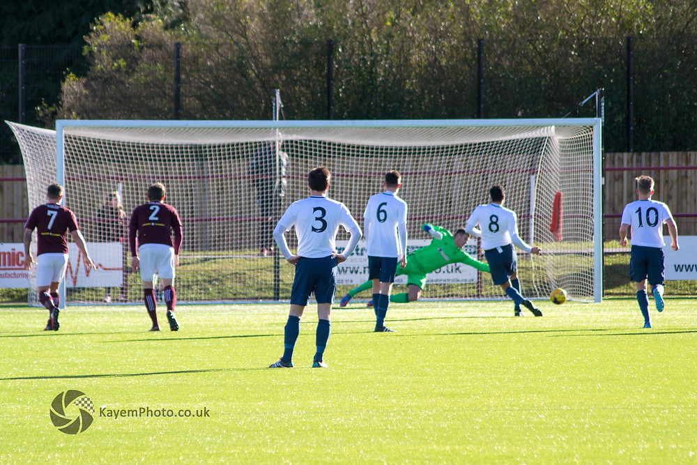 Holt penalty opens the scoring for Jeanfield