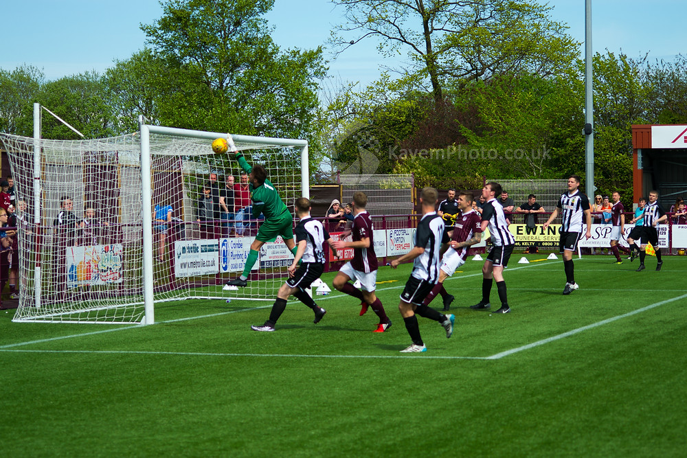 The keeper couldn't stop Ross Philp from giving Kelty an early lead