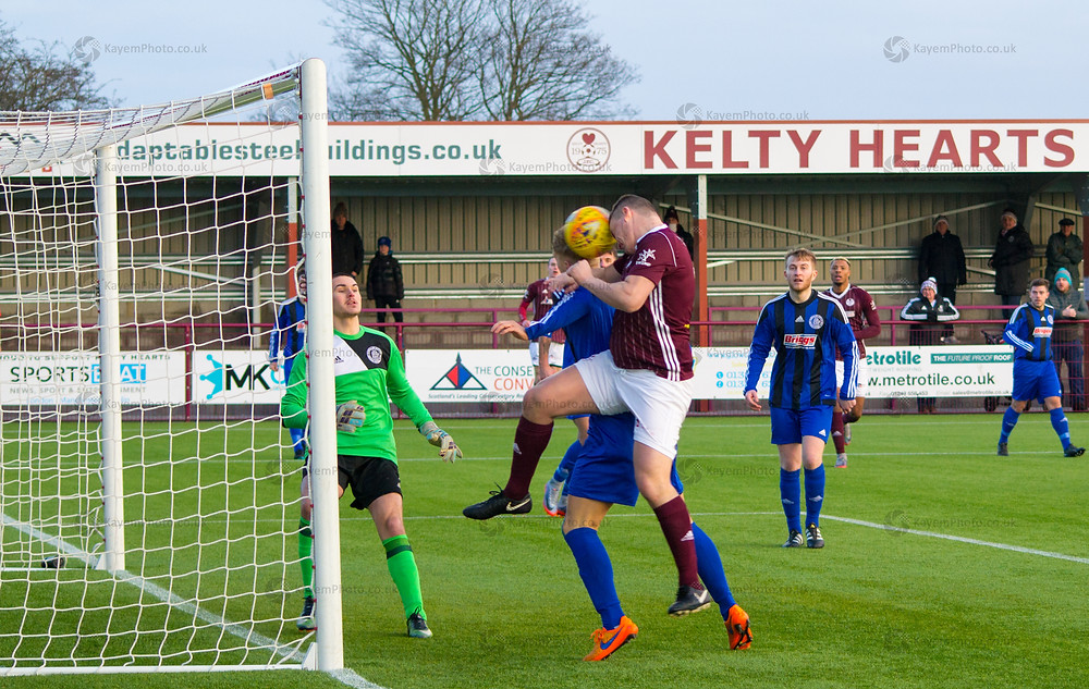 Sheerin opening the scoring in the first minute