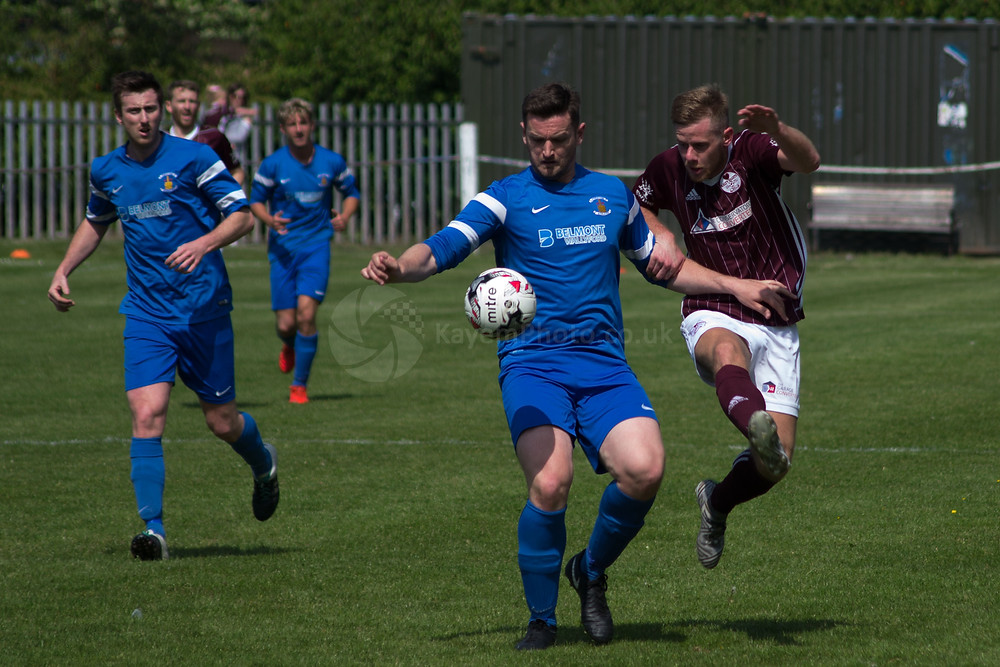 Campbell was making life difficult for the Kelty attack