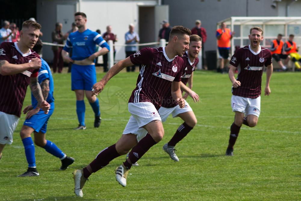 Husband got Kelty back level from the penalty spot