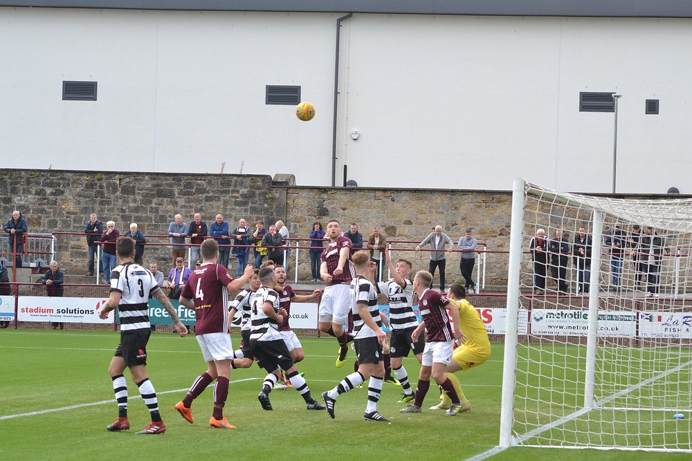 Brian Ritchie nearly made it two for Kelty