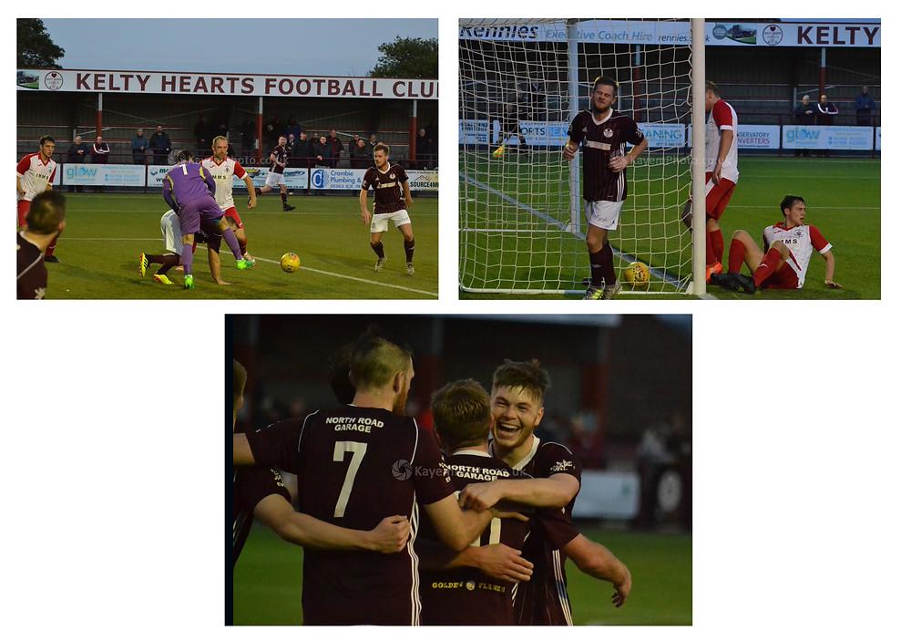 On form striker Stuart Cargill