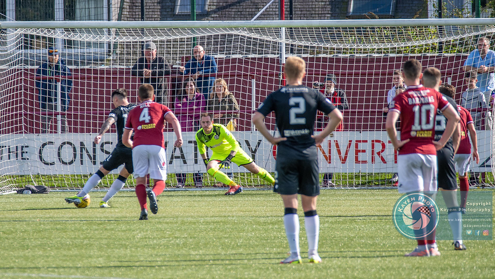 MacPhee gave Elign the lead from the penalty spot