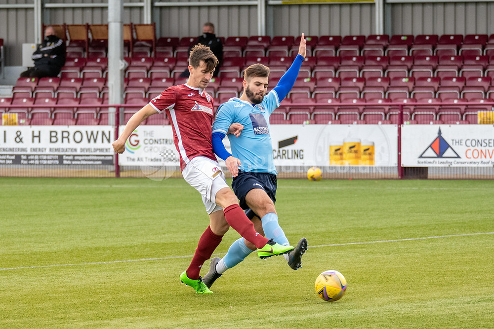 Anderson grabbing his first Kelty goal