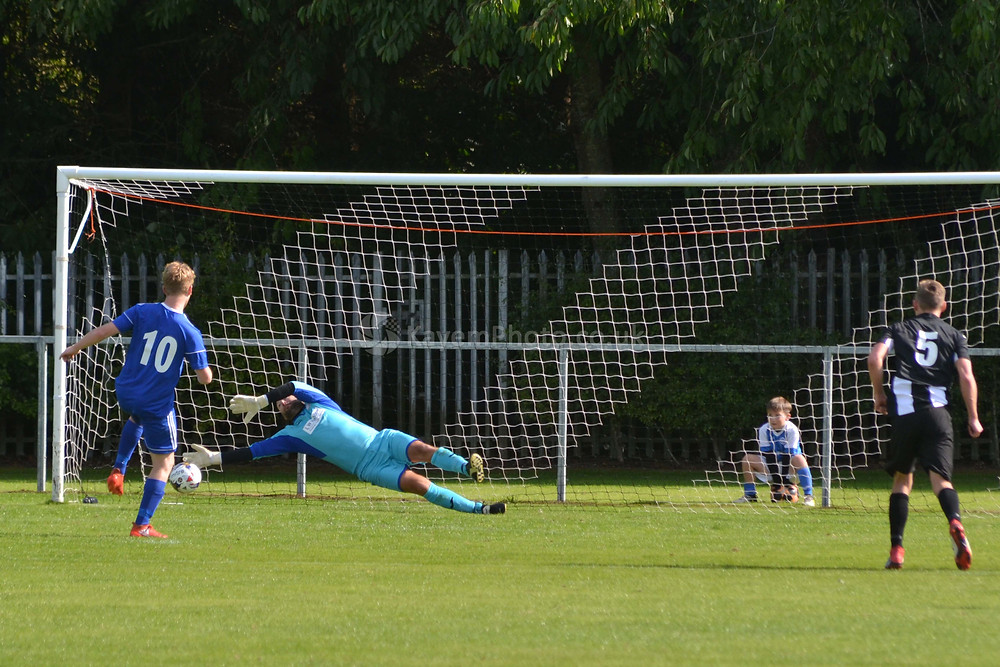 Mitchell saved Archibald's penalty
