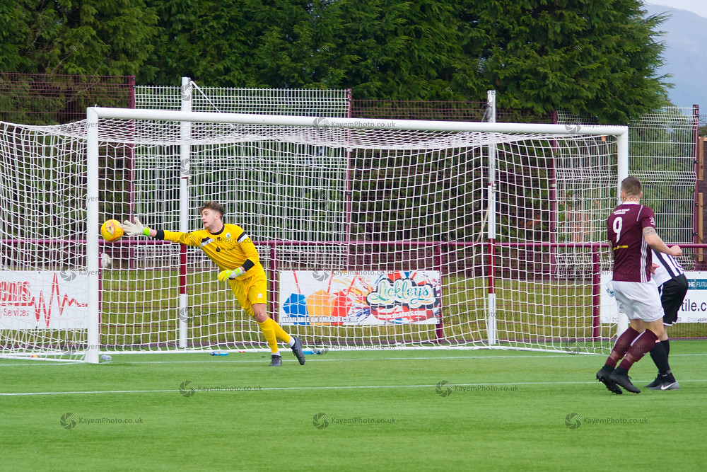 Kelty went close right from the kick-off