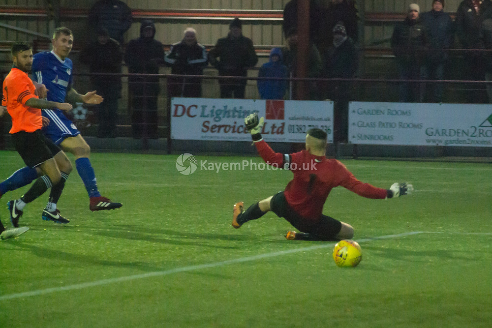 Scott Dalziell snatched a late winner for Kelty
