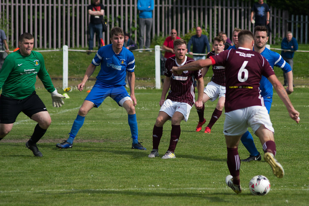 Kelty's best spell was early in the second half