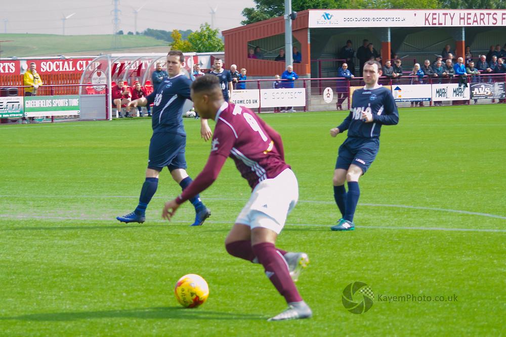 Douglas score Kelty's first goal in league football