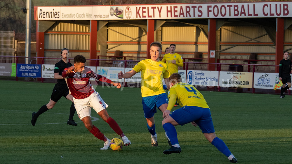 Austin leading the line for Kelty