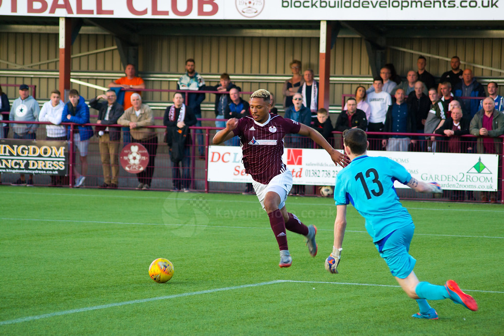 an Errol Douglas double to finish off the scoring