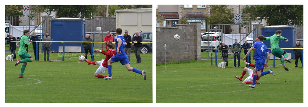 Callum Adamson flicked the ball past the keeper for 2-0