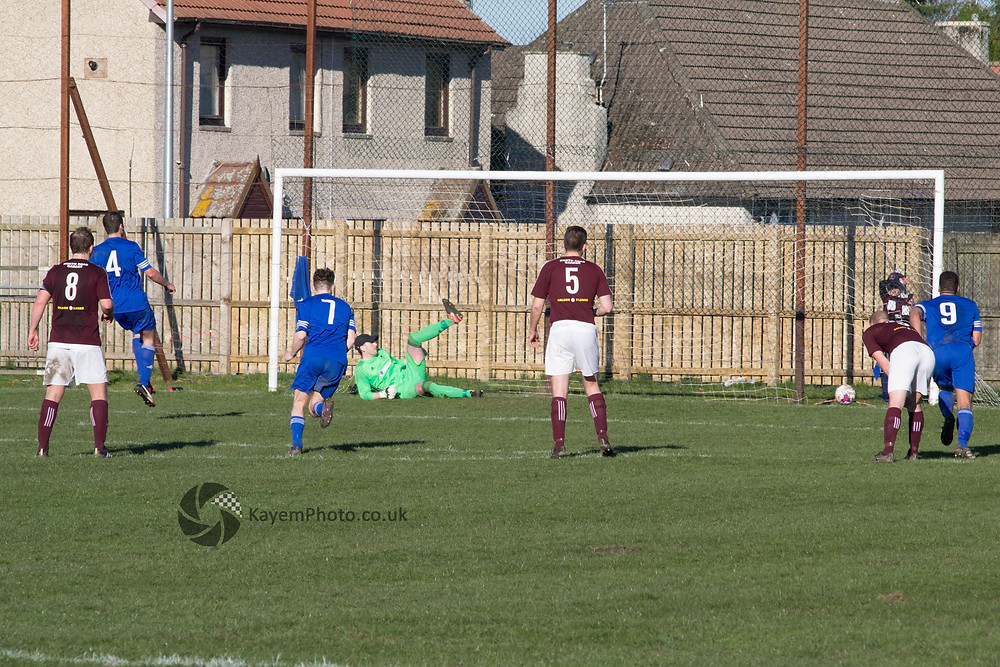 MacKenzie's penalty brings the sides level
