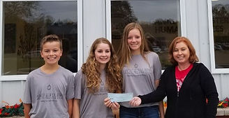 2018 Gabriella Howard, Alexandrea Howard, Samuel Howard Donation