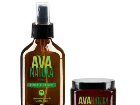 Ava-Natura-Hautserum+Zellcreme: Wie man die Haut gründlich reinigt und verjüngt.