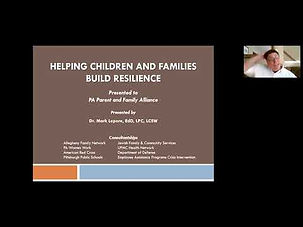 Helping Children and Families Build Resi