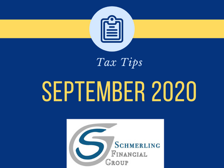 September 2020 Tax Tips