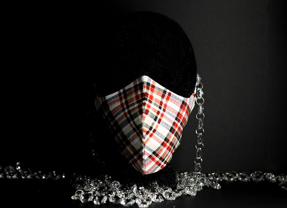 Handmade masks - Plaid