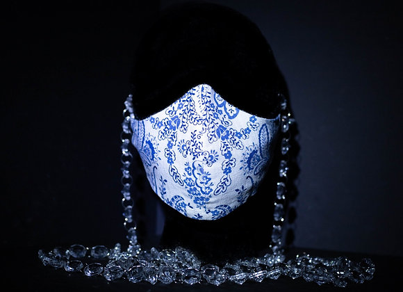 Handmade Masks -China Blue