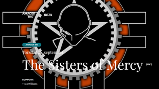 The Sisters Of Mercy i Amager Bio