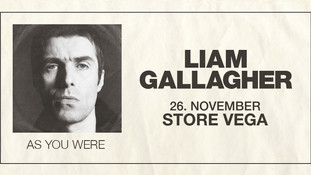 Liam Gallagher til Vega