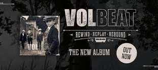 "Volbeat's nye album ""Rewind, Replay, Rebound"""