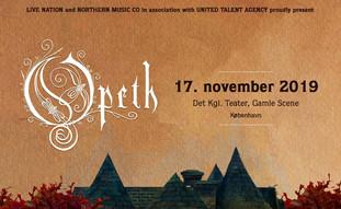 Opeth [+support] / Det Kgl. Teater, Gamle Scene /