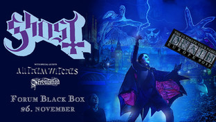 """Ghost """"The Ultimate Tour Named Death"""" / Forum Black Box / 26.11"""
