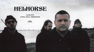 HELHORSE album release i Hotel Cecil
