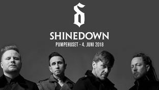 Shinedown lander i Pumpehuset