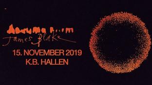 James Blake / KB Hallen 15 november 2019