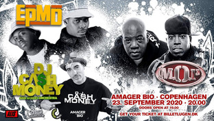 EPMD (USA) + M.O.P. (USA) + DJ Cash Money (USA) / Amager Bio