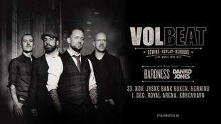 VOLBEAT nyt album World Tour i Denmark
