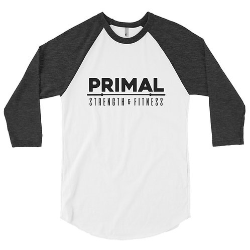 Primal 3/4 sleeve raglan shirt