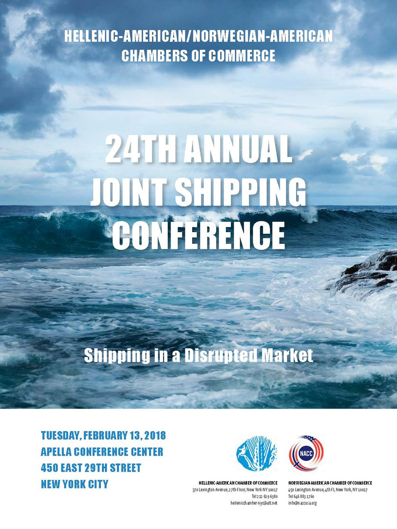 For the 24th Annual Shipping Conference Program press below: