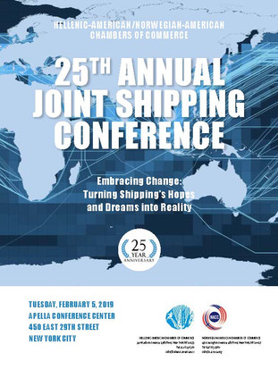 For the 25th Annual Shipping Conference Program press below: