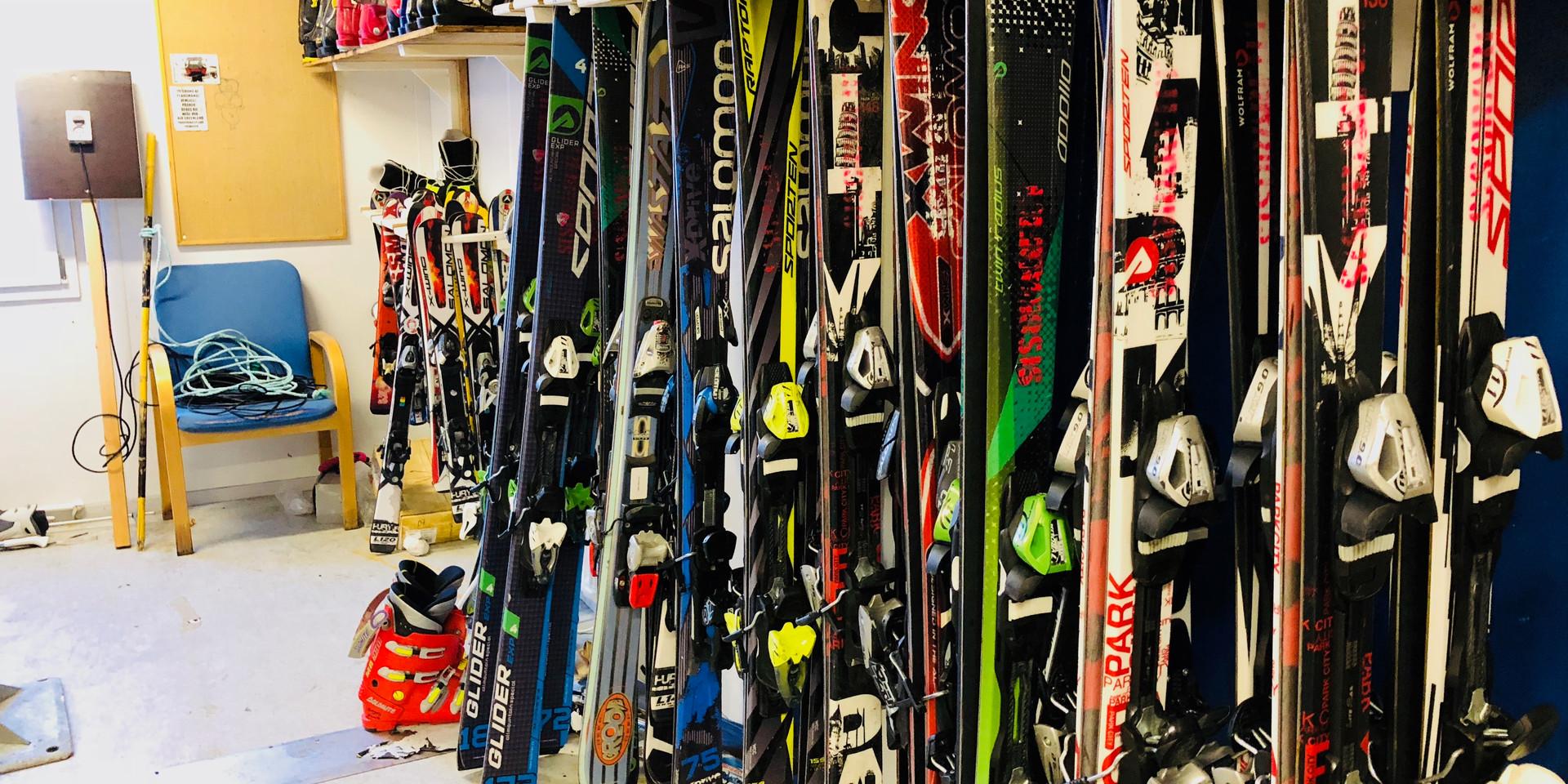 Udlejnings ski