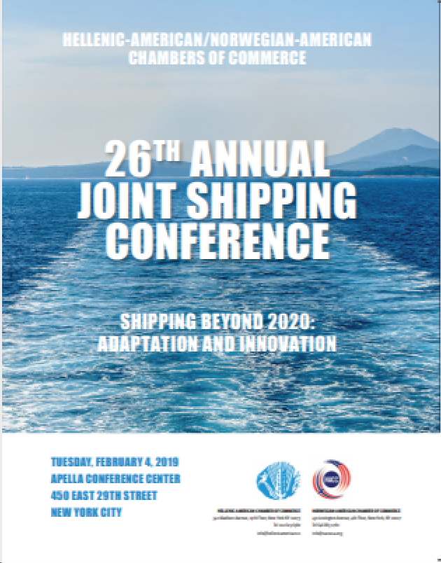 For the 26th Annual Shipping Conference Program press below: