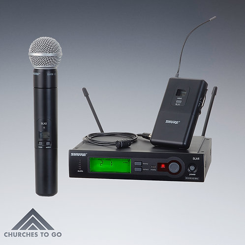SHURE SLX WIRELESS MICROPHONE