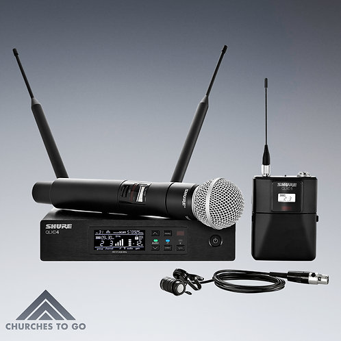 SHURE QLX WIRELESS MICROPHONE