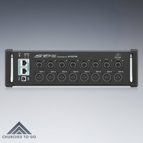 BEHRINGER SD8 STAGE BOX