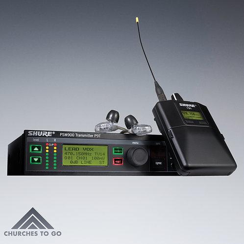 SHURE PSM 900 WIRELESS IN EAR SYSTEM
