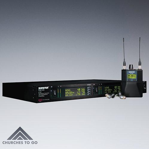 SHURE PSM 1000 WIRELESS IN EAR SYSTEM