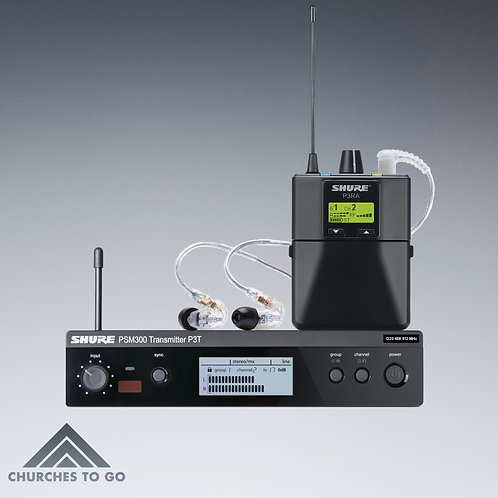 SHURE PSM 300 WIRELESS IN EAR SYSTEM