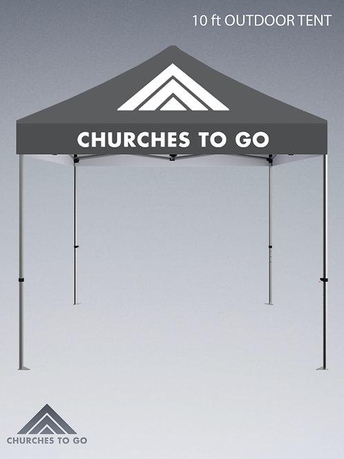 10ft Outdoor Popup Tent
