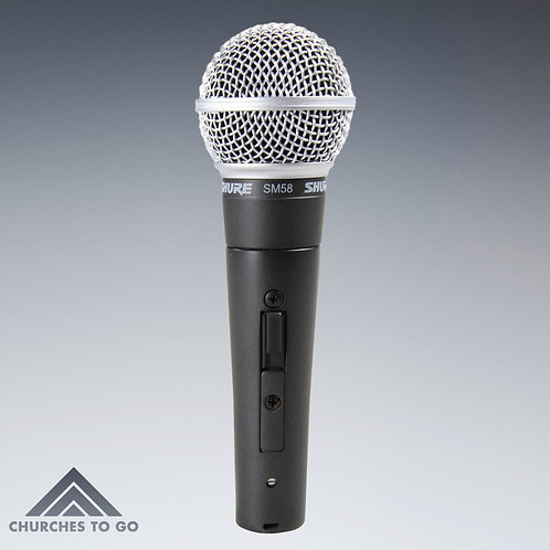 SHURE SM58-S WIRED MICROPHONE